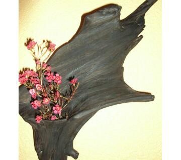 wooden wall show piece