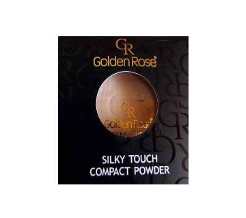 Golden Rose সিল্কি টাচ কমপ্যাক্ট পাউডার শেড 01 (UK)