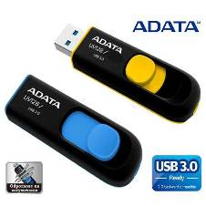Adata USB 3 Uv128 Pen Drive - 16 GB