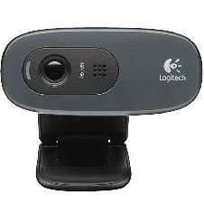 Logitech Webcam C270 3MP - Black