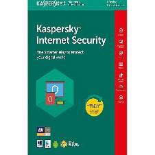 Kaspersky Internet Security 2018 - (1 user-1 year)