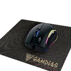 Gamdias Wired Optical Lighting Gaming Mouse ZEUS E1 - Black
