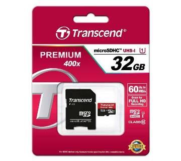 TRANSCEND 32 GB মেমোরি কার্ড