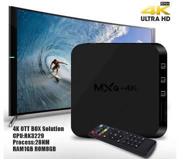 MXQ PRO অ্যান্ড্রয়েড 1GB UHD 4K স্মার্ট TV বক্স