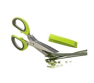 Multifunction Kitchen Scissors - Silver