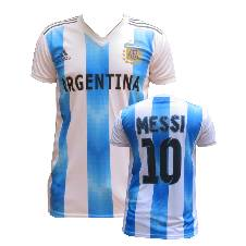Argentina Home Jersey World Cup 2018 - Half Sleeve