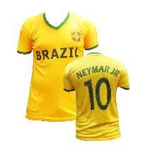 Brazil Home Jersey World Cup 2018 - Half Sleeve
