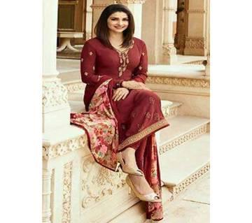 Vinay Fashion আনস্টিচড সিল্ক থ্রি পিস