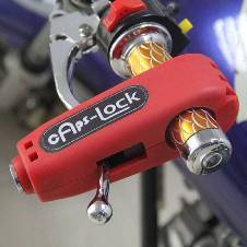 Motorcycle Handlebar Lock