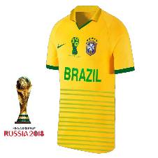 Half Sleeve Brazil Jersey World Cup 2018 (Copy)