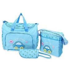 Multifunction Baby Diaper Bag-Sky Blue