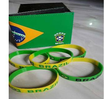 Brazil Regular Shaped Menz Wallet