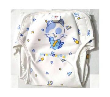 Baby Cloth Diaper - White