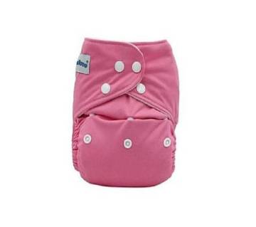 Re-Usable Cloth Diaper for Babies - Pink