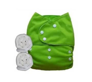 Baby Cloth Diaper - Green