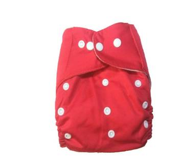 Cloth Diaper for Baby - Red