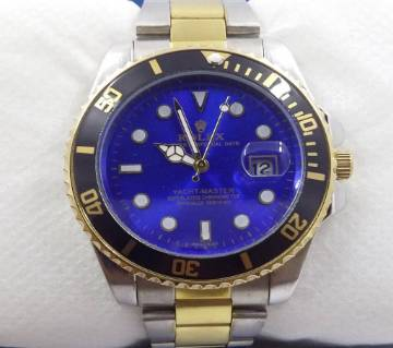 Blue Dial Stainless Steel Gentle Watch (copy)