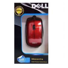Dell Optical USB Mouse - Red