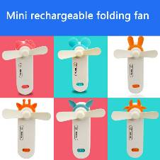 Mini Rechargeable Folding Fan
