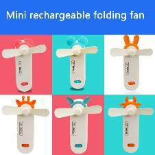 Mini Rechargeable Folding Fan