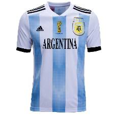 World Cup 2015 Argentina Half Slave Home Jersey - Copy