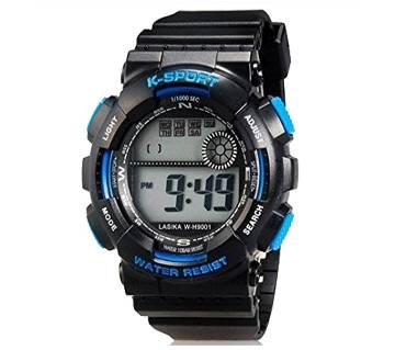 Lasika K-sports Watch - Black & Blue