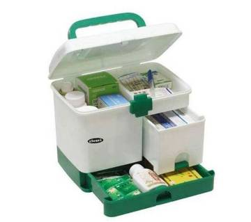 Household Multi-layer First Aid Box