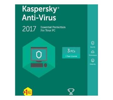 Kaspersky Antivirus (3 user)