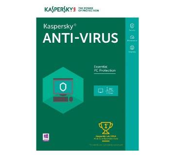 Kaspersky Antivirus (1 user)