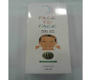 Face to Face Peel Of Facial Mask Germany