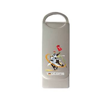 TEUTONS Metallic Knight 32GB Pendrive - Silver