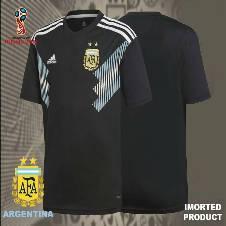 2018 World Cup Argentina Away Jersey - Half Sleeve (Copy)