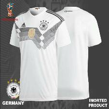 2018 World Cup Germany Home Jersey - Half Sleeve (Copy)