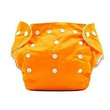 Orange কটন Cloth ডায়পার for Baby