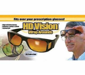 HD Vision Wraparounds Sunglasses