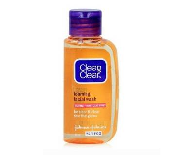 Clean & Clear Foaming Facial Wash for Women - 50ml India