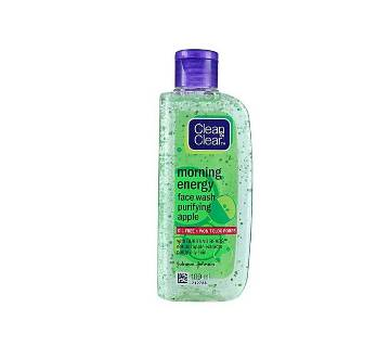 Clean & Clear Morning Energy Apple Face Wash 100ml INDIA