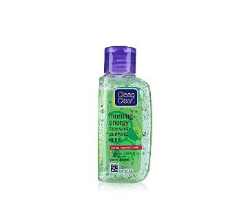 Clean & Clear Morning Energy Apple Face Wash 50ml INDIA