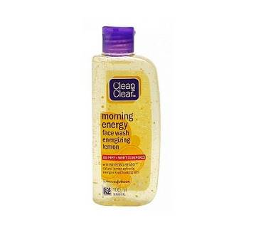Clean & Clear Morning Energy Face Wash lemon - 100ml  INDIA