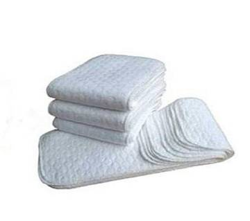 Nappy for Baby - 4pcs - White