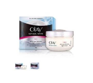 Olay Natural White Fairness Night Cream 50 gram Saudi Arab