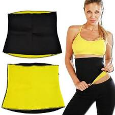 Hot Shapers Slimming Belt - Black and Yellow