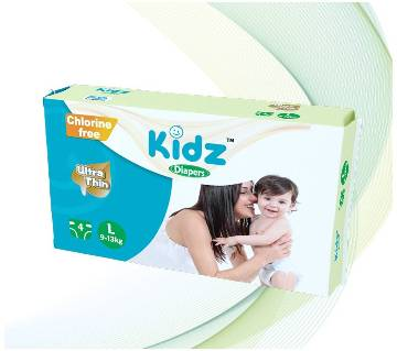 kidz Diapers L (9-13kg)