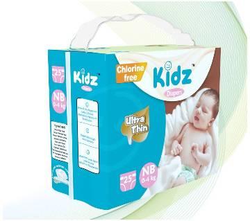 Kidz Diapers NB (0-4kg)
