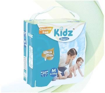 kidz Diapers M (6-10kg)