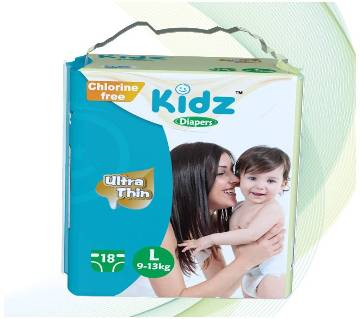 kidz Diapers L(9-13kg)