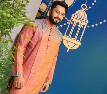 Mens Cotton Printed Slim Fit Panjabi– CP44