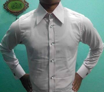 Full Sleeve Cotton Shirt - Pink
