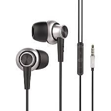 UiiSii HI 810 - Mic Volume Control Stereo In-Ear Headphone for Smartphone - Black