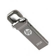 HP Steel Body Pendrive - 32GB - Silver